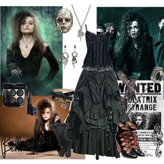 Bellatrix-could see me doing this for a Halloween
