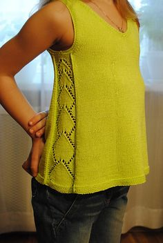 Knitting: Ravelry: Project Gallery for Sun Rays by Galina Shemchuk, . , Knitting: Ravelry: Project Gallery for Sun Rays by Galina Shemchuk, . Knitting Blogs, Knitting Patterns Free, Knit Patterns, Free Knitting, Baby Knitting, Summer Knitting, How To Start Knitting, Top Pattern, Knit Crochet