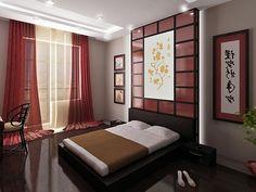 Love it. Japanese-Style Bedroom