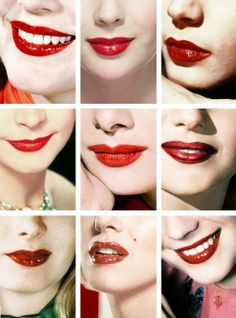 Ava Gardner, Elizabeth Taylor, Lauren Bacall, Vivien Leigh, Audrey Hepburn, Rita Hayworth, Veronica Lake, Marilyn Monroe e Natalie Wood