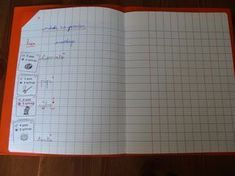 Encodage CP cahier du jour