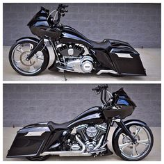 "BX Special of the day!! 2012 Road Glide with 23"" Tahoe front wheel, matching 17"" rear wheel, Yaffe tank & stretched bags & fender! $25850.00…"