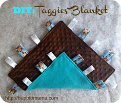 Taggies Baby Blanket Sewing Tutorial
