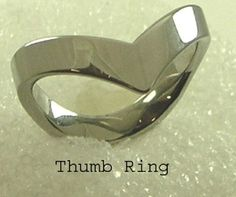 Chevron Thumb Ring Stainless Steel Silver Size 7 8 9 10 11  #Unbranded #Thumb