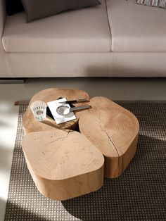 The Tobi is a uniquely styled occasional table that would work in any home environment. Round Wood Coffee Table, Reclaimed Wood Coffee Table, Coffe Table, Trunk Furniture, Table Furniture, Furniture Design, Wood Resin Table, Wood Table, Wood Stool