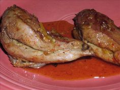 Pheasant in Orange Sauce from Food.com:   I was at a loss when my hunter DH came home with lots of pheasant for me to cook. A family friend gave me this recipe and it is DELICIOUS!