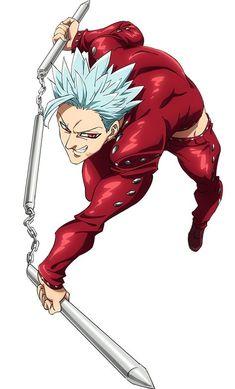 seven deadly sins Ban art Seven Deadly Sins Anime, 7 Deadly Sins, Ban Anime, Naruto Amv, Madara Uchiha, 7 Sins, Seven Deady Sins, Shared Folder, The Seven