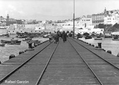 Tanger Old photographs of Tangier Vista general desde el muelle, fotos, old, century, photos, nineteenth, xix, siglo