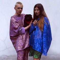 The Vice 'Glitter's Fun for Girly Thugz' Editorial Showcases Juxtaposition #fashion trendhunter.com