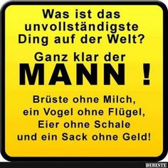 Was ist das unvollständigste Ding af der Welt? Facebook Humor, Humor Grafico, Meaning Of Life, Man Humor, Satire, Decir No, Funny Jokes, Quotations, Funny Pictures