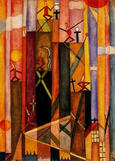 Alejandro Xul Solar, Alejandro (Schulz Solari, Oscar Agustín Alejandro), 1924 on ArtStack Abstract Painters, Abstract Art, Georges Braque, Naive Art, Objet D'art, Sculpture, Plexus Products, American Artists, Occult