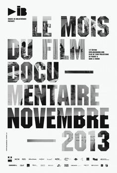 Julien Lelièvre - Le mois du Film documentaire 2013 - Clikclk.fr
