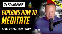 Dr Joe Dispenza - How to Meditate The Right Way For Best Results When most people awake in the morning, they don't remember their dreams because they . Evening Meditation, Walking Meditation, Chakra Meditation, Meditation Music, Mindfulness Meditation, Meditation Youtube, Breathing Techniques, Meditation Techniques, Mind Body Spirit