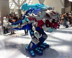KOG'MAW From: League of Legends Cosplayer: Zack (4 itchy Tasty! Cosplay) Photographer: Unknown Source: DailyCosplay.com