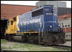 A shot of GP38-2 1809 captured on shop 4 track at Cochrane Shops July 6th.