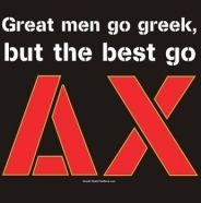 Great men go greek, but the best go Delta Chi! Great idea for recruitment!