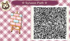 tomoyagisa:  Heres a Sylveon inspired one-tile path i made today~ enjoy!![: