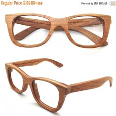 62f2d8c58d5 American Cherry Wood Handmade Wooden Takemoto Brown glasses frames  Sunglasses