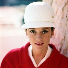 Audrey Hepburn photographed by Pierluigi Praturlon near the Piazza Guglielmo Marconi in Rome, Italy, March 1961.