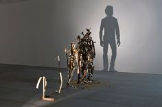 Amazing silhouette sculptures by Tim Noble and Sue Webster