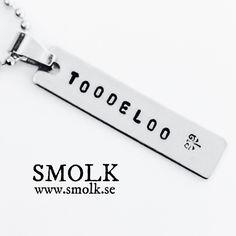 Produkten TOODELOO säljs av SMOLK -Handstamped jewelry with a twist i vår Tictail-butik. Tictail låter dig skapa en snygg nätbutik helt gratis - tictail.com