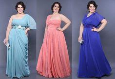 Vestidos de festa plus size - Madrinhas de casamento