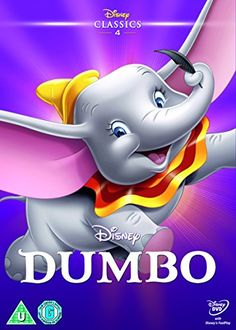 Dumbo is a baby elephant born with oversized ears and a supreme lack of confidence. But thanks to his even more diminutive buddy -- Timothy the Mouse -- the pint-sized pachyderm learns to surmount all obstacles. Flying Elephant, Little Elephant, Baby Elephant, Disney Animation, Disney Pixar, Walt Disney, Dumbo Disney, Disney Love, Disney Magic