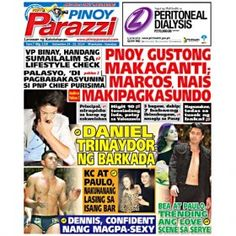 Pinoy Parazzi Vol 7 Issue 118 September 24 – 25, 2014 http://www.pinoyparazzi.com/pinoy-parazzi-vol-7-issue-118-september-24-25-2014/