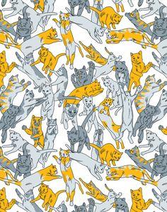 Jonathan Wilcox's cat pattern.