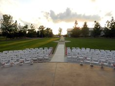 Bride & Groom's view of the ceremony site