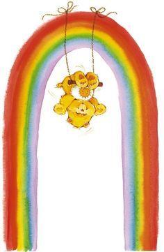 Care Bears: Funshine Bear Just Hanging Around