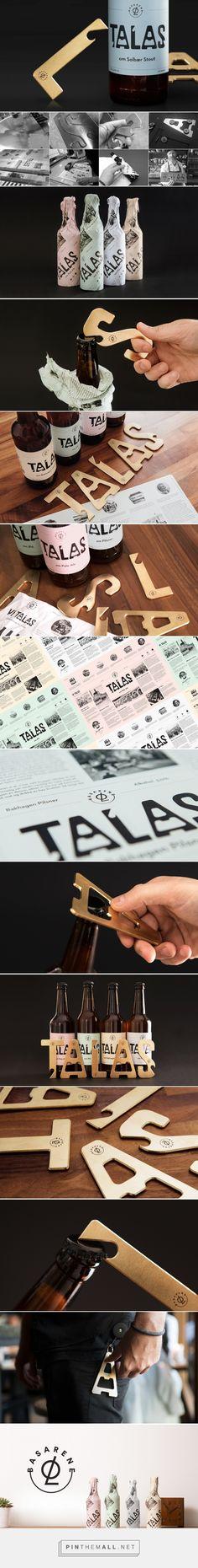 Devi Soewono | TALAS a branding project by Mats Ottdal & Anti. http://www.devisoewono.com/design/talas/