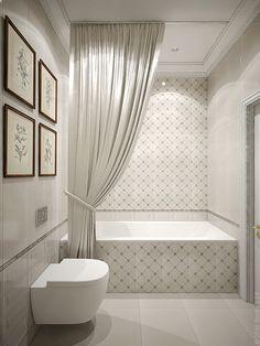 Дизайн трехкомнатной квартиры в стиле современной классики в г. Москва