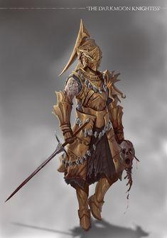 Grimdark Souls - Darkmoon Knightess by SaneKyle on DeviantArt