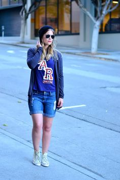 Britt+Whit: Whit's sporty weekend style