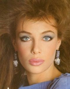 Kelly LeBrock, 1980's Makeup and Hair