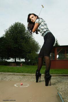 Ballet Boots, Ballet Heels, Catsuit, Latex, High Heels, Sporty, Punk, Model, Fashion Trends