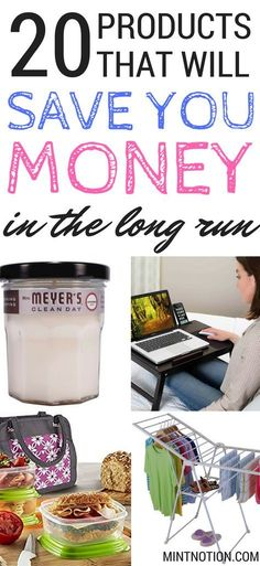 Things to buy that will SAVE you MONEY in the long run. Frugal living tips.