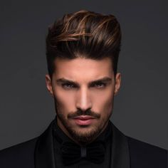 Comb over haircuts - why they have become immensely popular?Getting to Know More About the Comb Over Haircuts.Best Comb Over Haircuts You Should Try Skin Color Chart, Mens Toupee, Mens Hair Colour, Comb Over, Beard Styles, Hair Highlights, Highlights For Men, Haircuts For Men, Hair Lengths