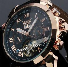 Veja nosso novo produto Relógio Automatic Jaragar Luxury - Pronta Entrega! Se gostar, pode nos ajudar pinando-o em algum de seus painéis :)