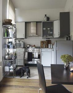 Modern kitchen-diner. netherlands. ikea kitchen