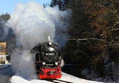 Harzer Schmalspur Bahnen  Selketalbahn  Wintertime!