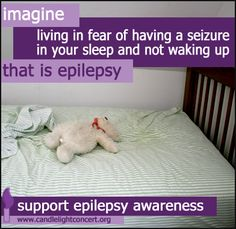 Share and educate others about epilepsy.