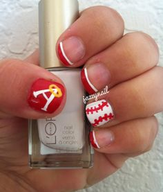 Anaheim Angels Nails