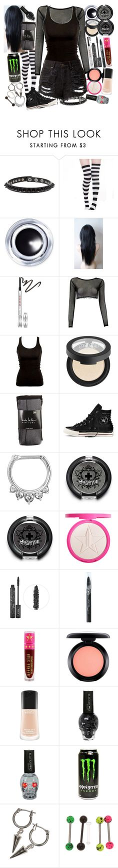 """READ D PLZ ""I just don't give a fxck, and if I ever gave a fxck, I would be straight out of luck"""" by thelyricsmatter ❤ liked on Polyvore featuring Topshop, Smashbox, Benefit, Kat Von D, Nicole Miller, Converse, Target, Sugarpill, Jeffree Star and MAC Cosmetics"