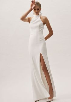 BHLDN wedding dress - One of my faves Bhldn Wedding Dress, Unique Wedding Gowns, Cheap Wedding Dress, Designer Gowns, Designer Wedding Dresses, Allure Couture, Jasmine Bridal, Two Piece Gown, Organza Dress