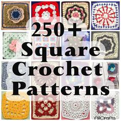 Free Crochet Squares Patterns