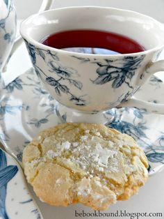 Lemon Crinkle Tea Cookies | Be Book Bound ~ Pride and Prejudice
