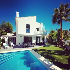Signed! Can't wait to welcome our first families to this bijou beachside pad in #Estepona. #luxuryvilla #spaininstyle #Designervilla #DesignerCollection #CostadelSol #Familyvacation #beachholiday #PetitCollection #Marbella #LuxuryTravel #concierge #Booknow #TLVC