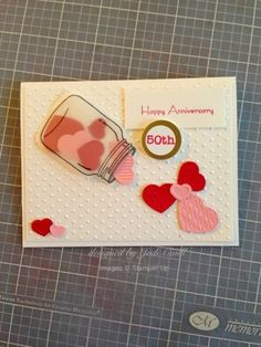 something about stamping: Custom order 50th anniversary